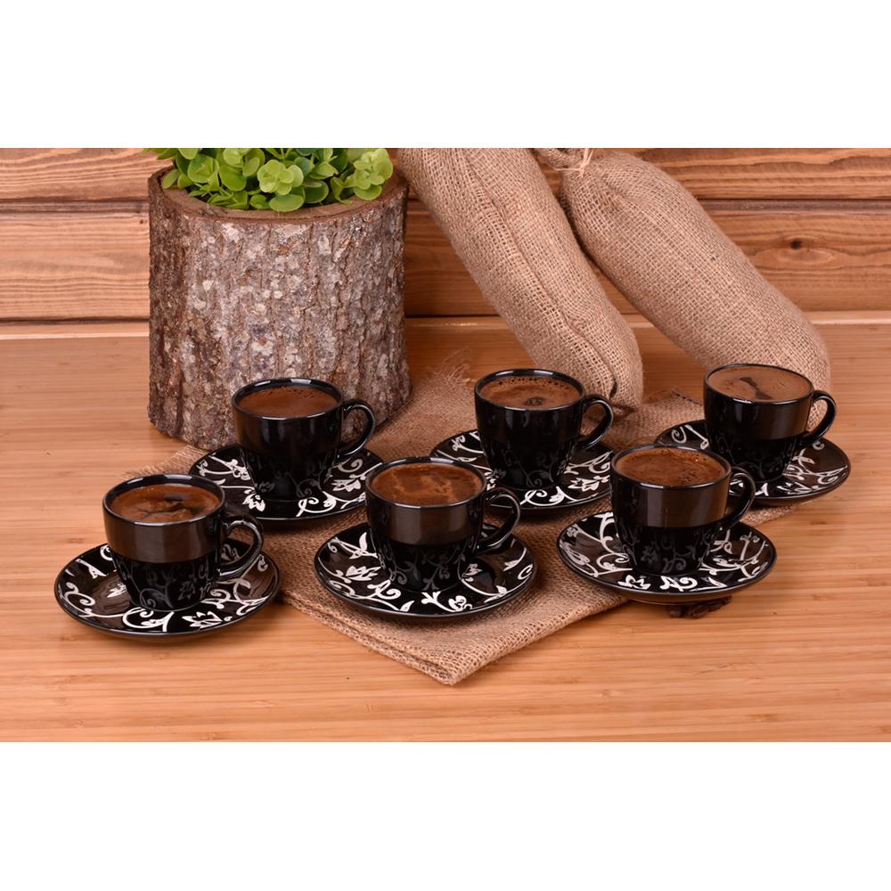 Hagia - 6 Kişilik Kahve Fincan Takımı