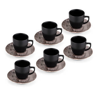 Bernardo - Hanes 12 Parça Kahve Seti