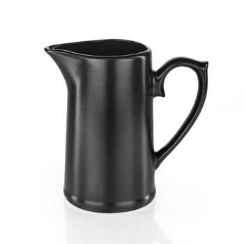 Bernardo - Hanes Siyah Stoneware Sürahi - 20 cm