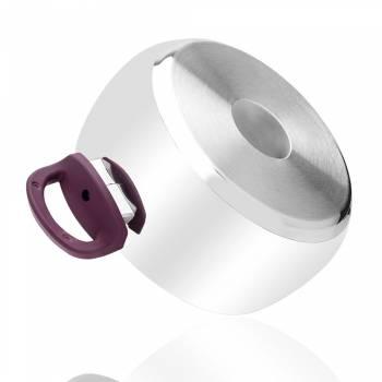 - 8 Parça Çelik Set - Mor Kulp (1)