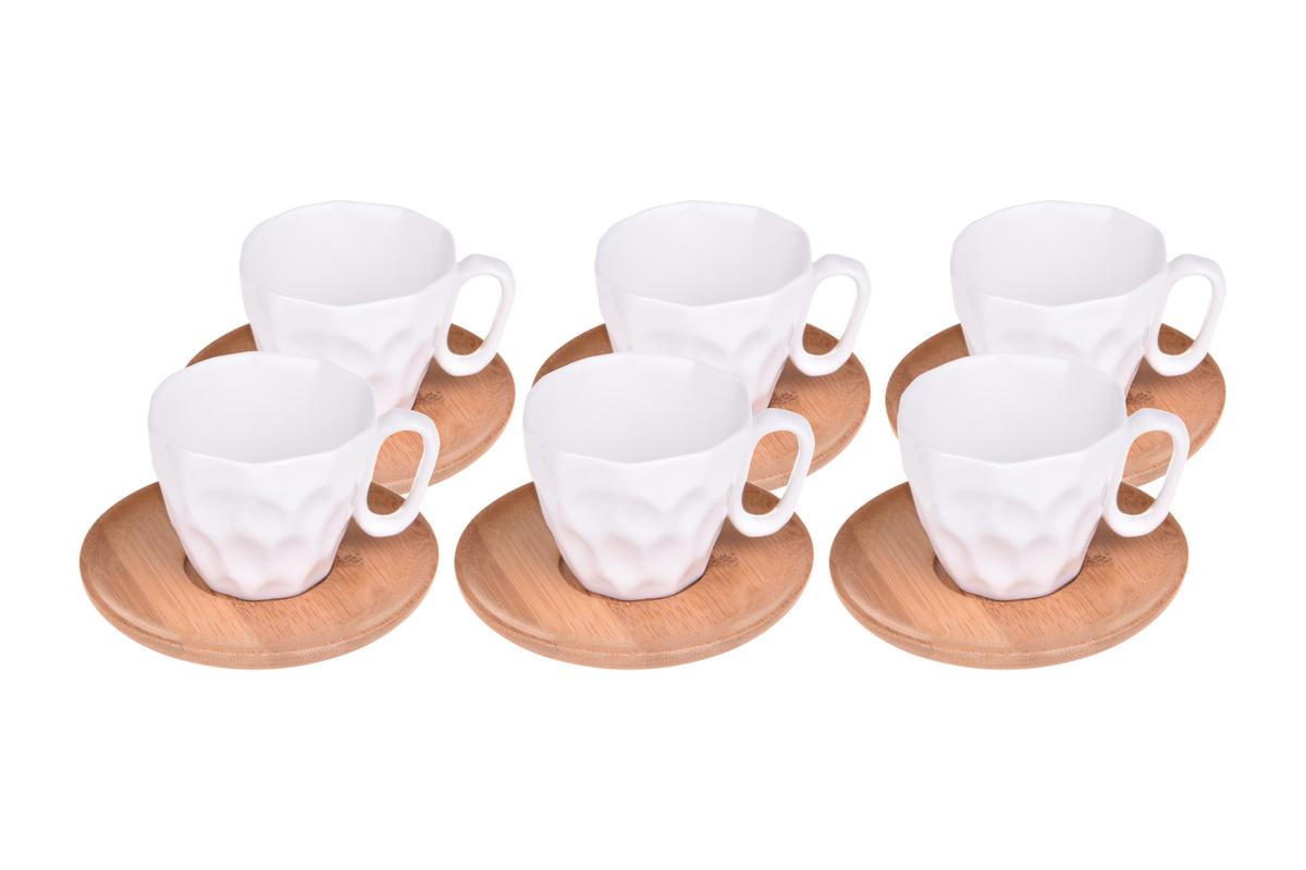 Hull 6 Kişilik Kahve Fincan Takımı Bambum