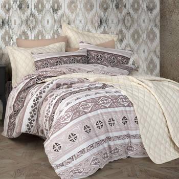 Bernardo - İkat Çift Kişilik 7 Parça Yatak Örtüsü Takımı