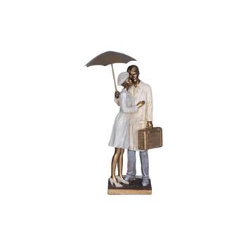 Biev - Jasmine Şemsiyeli Çift Biblo 41 cm