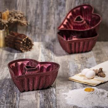 - Kalpli Granit Kek Kalıbı (1)