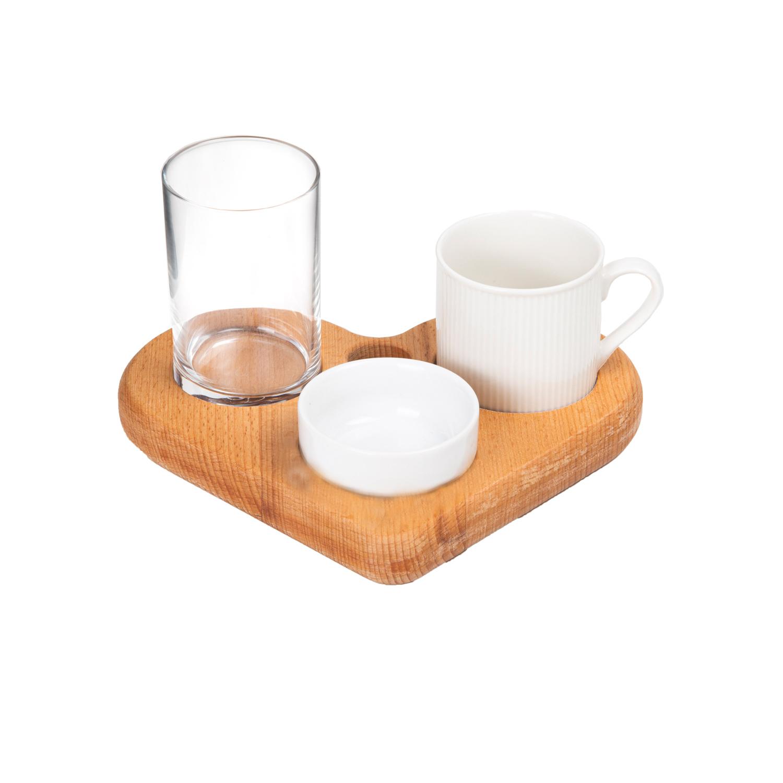 Kalpli Kahve Sunumu - 4 Parça