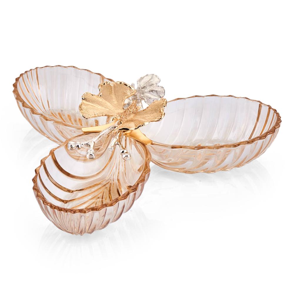 Kelebek 3'lü Çerezlik - Amber