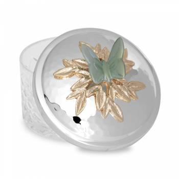 Kelebek Yayvan Kase 13 cm - Thumbnail