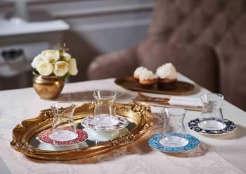 Lalezar 6'lı Çay Bardağı Seti - Thumbnail