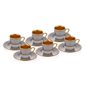 Lanza 6 Kişilik 12 Parça Kahve Fincan Takımı - Thumbnail
