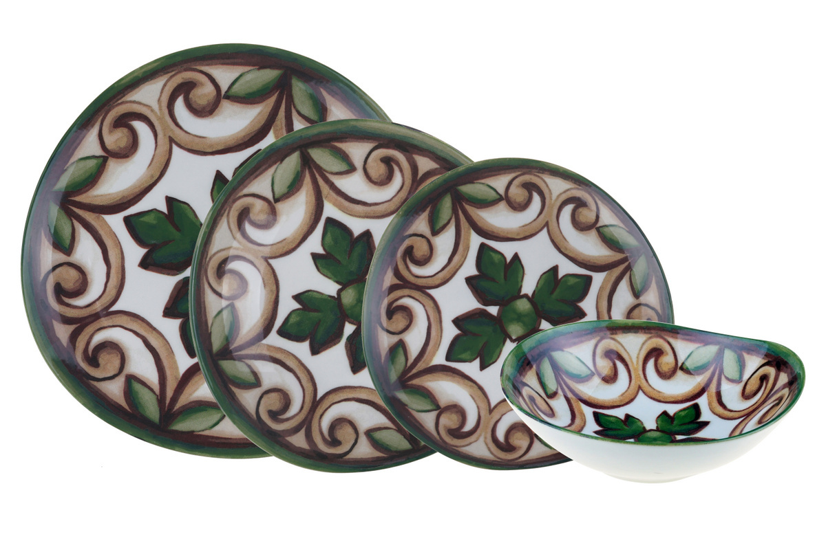 Lucia - 24 Parça Bone Porselen Yemek Takımı