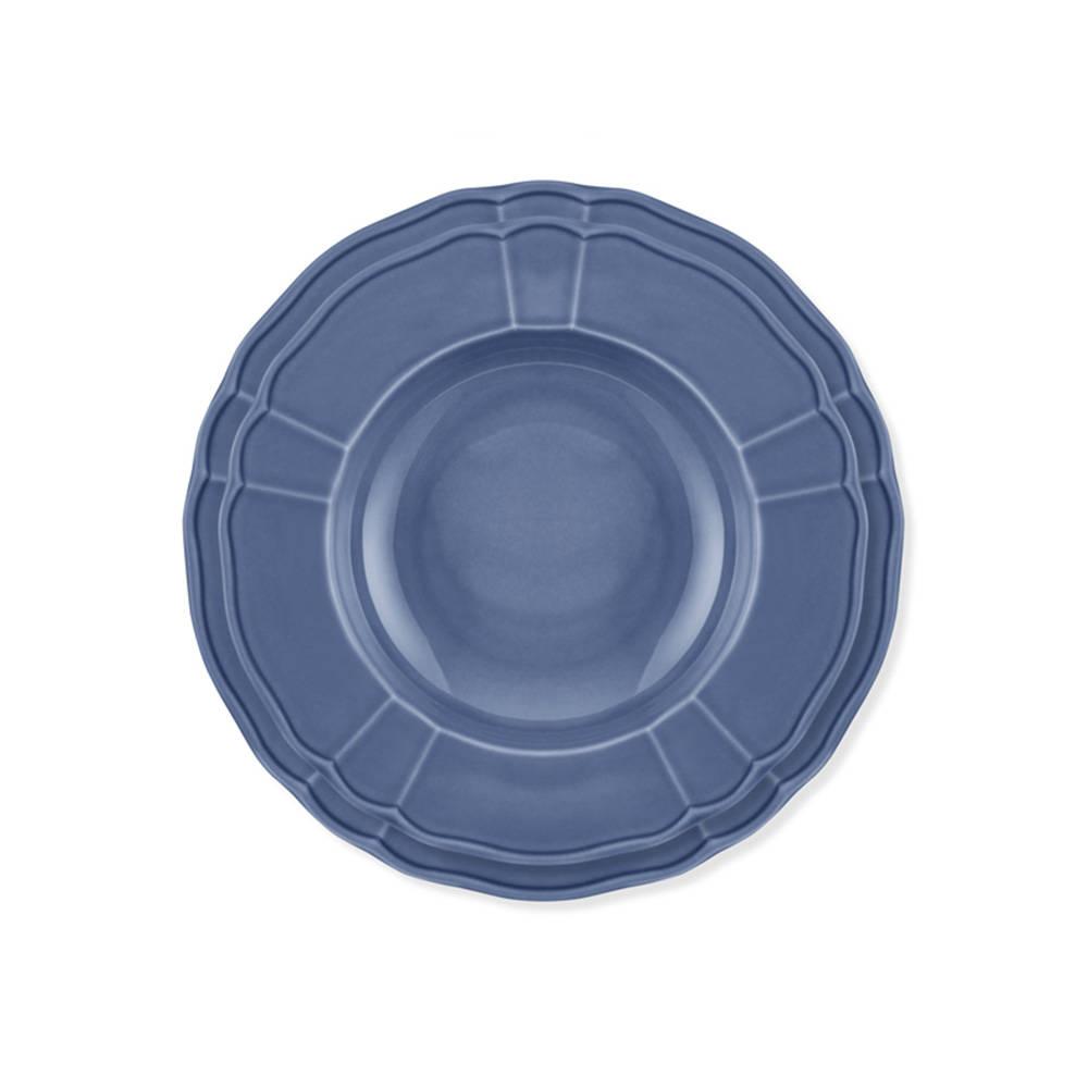 Maria 6 Kişilik 24 Parça Porselen Yemek Takımı - Mavi