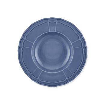 Maria 6 Kişilik 24 Parça Porselen Yemek Takımı - Mavi - Thumbnail