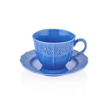 - Mavi Çay Fincanı