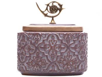 Biev - Melilla Kapaklı Vazo 22 cm