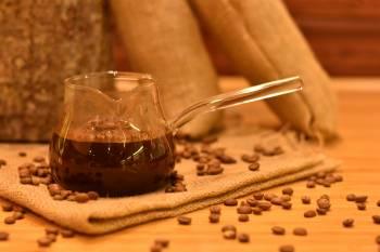 - Meva Cam Cezve 400 ml Bambum