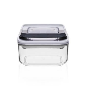 Bernardo - Mild Şeffaf Kare Plastik Saklama Kabı – 0,25 lt