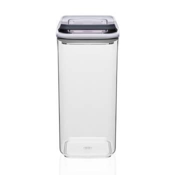 - Mild Şeffaf Kare Plastik Saklama Kabı – 1,2 lt