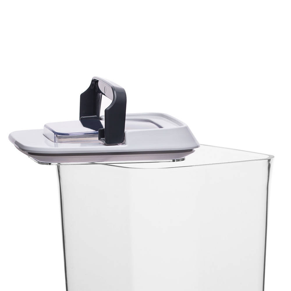 Mild Şeffaf Kare Plastik Saklama Kabı – 1,2 lt