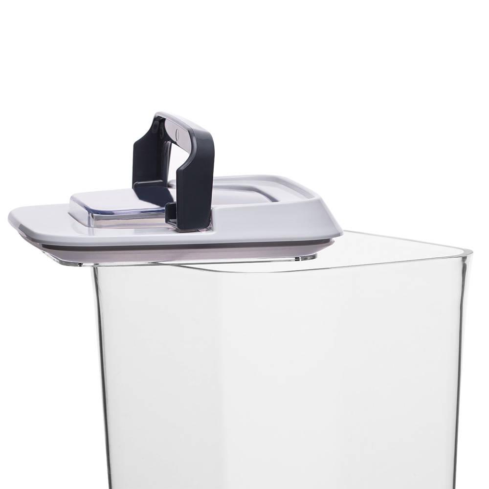 Mild Şeffaf Kare Plastik Saklama Kabı – 1,7 lt