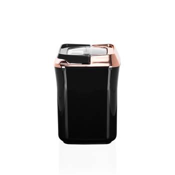 Mild Siyah Kare Plastik Saklama Kabı – 0,9 lt - Thumbnail