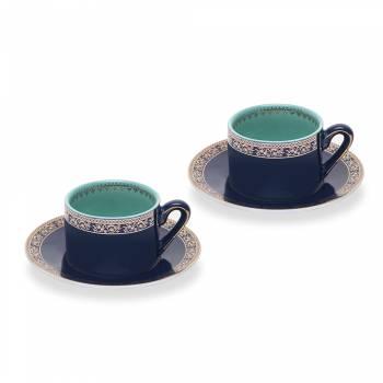 - Mint 2'li Kahve Fincan Seti