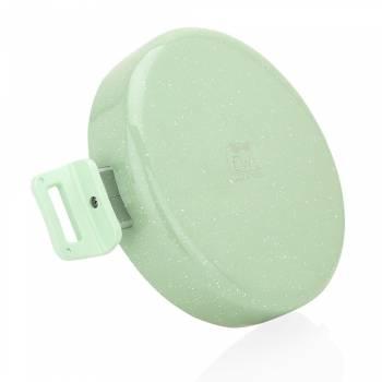 Mint - Krem 30 cm Sığ Tencere - Thumbnail