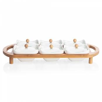 - Monat Kahvaltılık - Bambu & Porselen