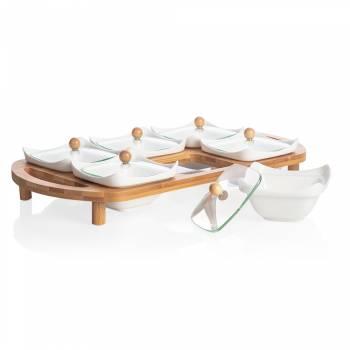 - Monat Kahvaltılık - Bambu & Porselen (1)