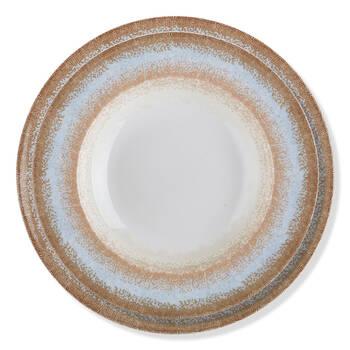 Mosaic 6 Kişilik 24 Parça Bone China Yemek Takımı - Thumbnail