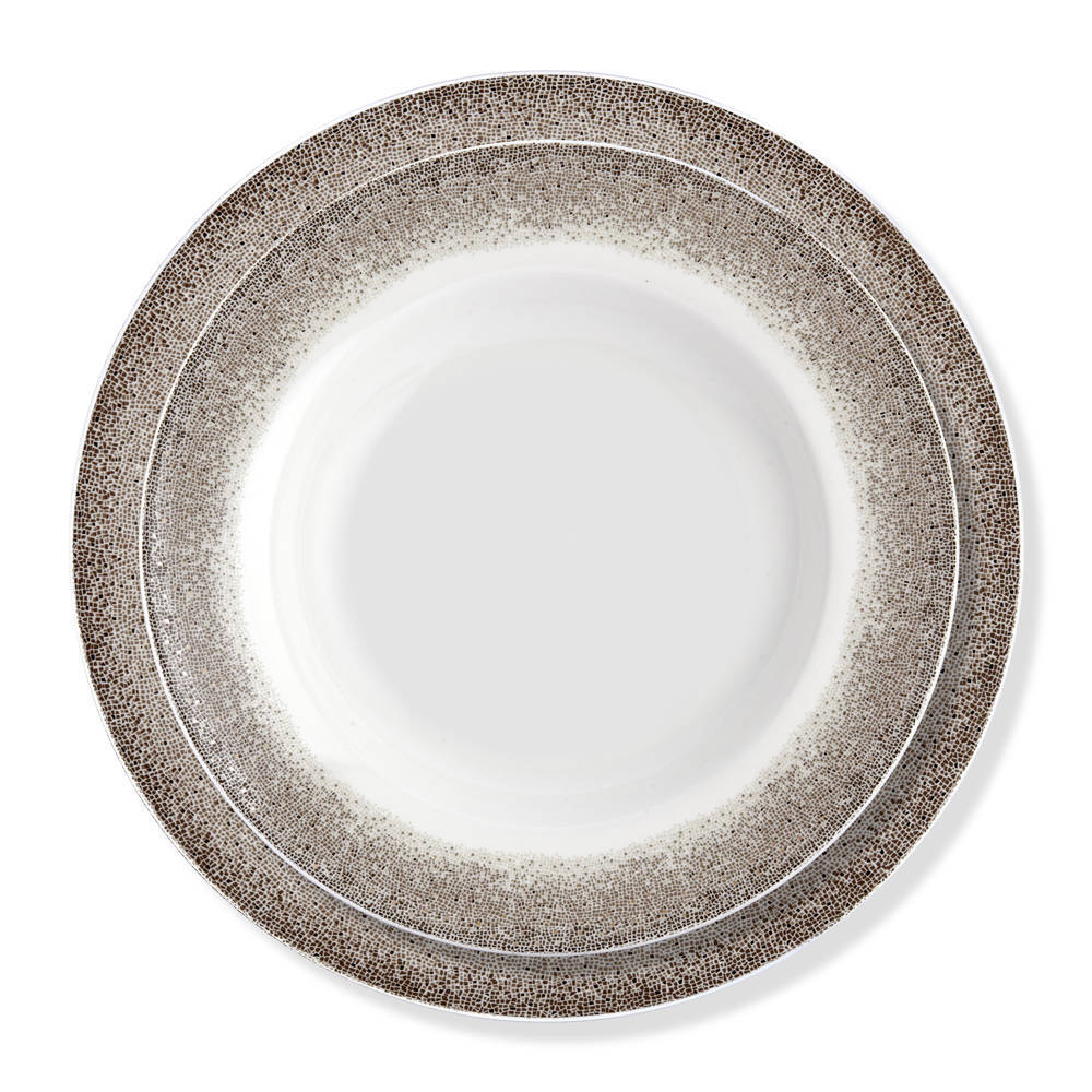 Mosaic 6 Kişilik 24 Parça New Bone China Yemek Takımı