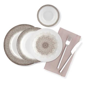 - Mozaic 24 Parça Yemek Takımı