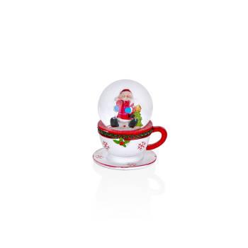 - Fincan Formlu Noel Cam Küresi