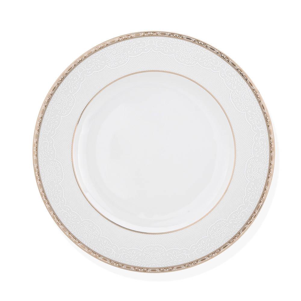 Nora 12 Kişilik 57 Parça New Bone China Yemek Takımı
