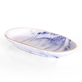 Bernardo - Ocean Seramik Kayık Tabak - 19 cm