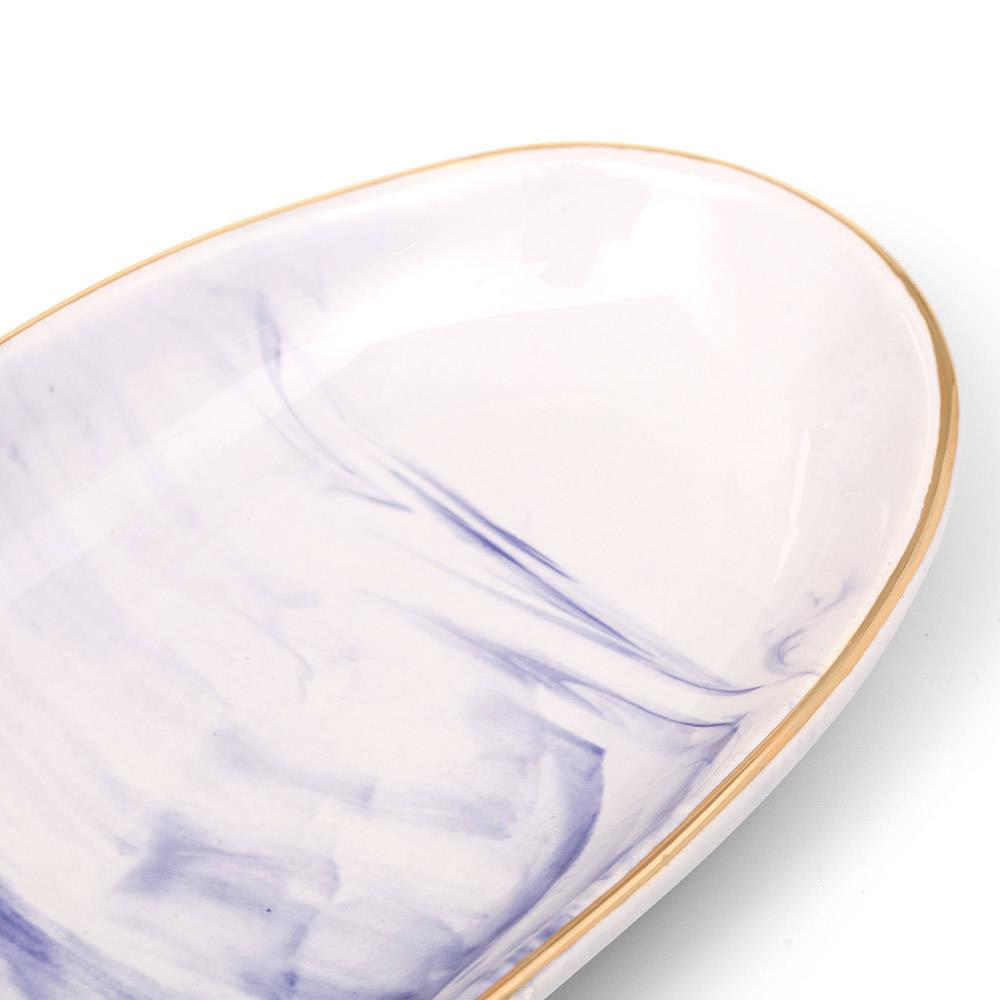 Ocean Seramik Kayık Tabak - 19 cm