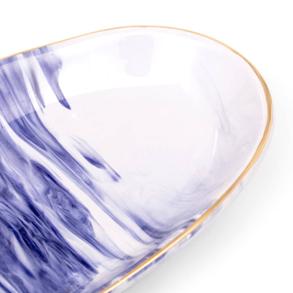Ocean Seramik Kayık Tabak - 22 cm