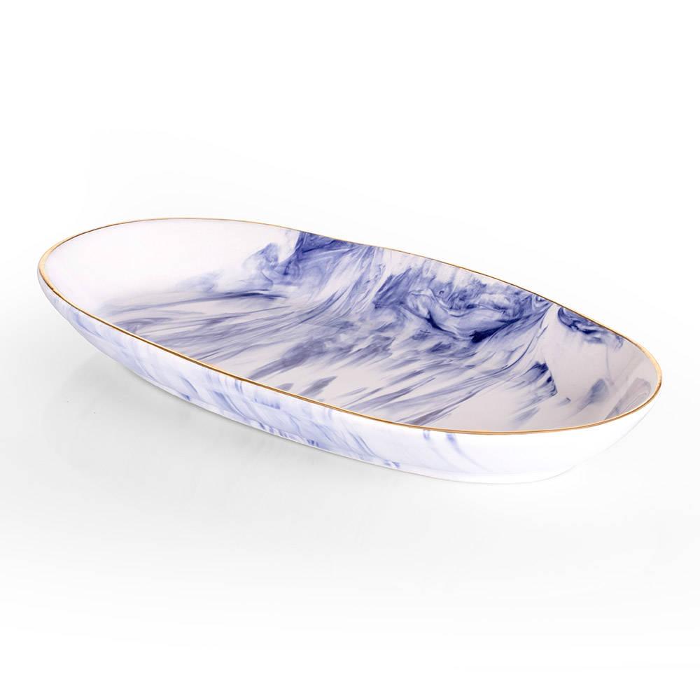 Ocean Seramik Kayık Tabak - 26 cm