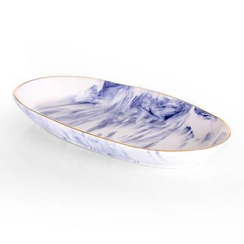 Bernardo - Ocean Seramik Kayık Tabak - 26 cm