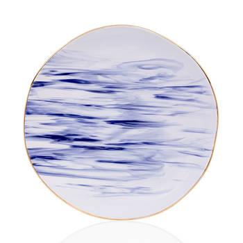 Bernardo - Ocean Seramik Servis Tabağı - 27 cm
