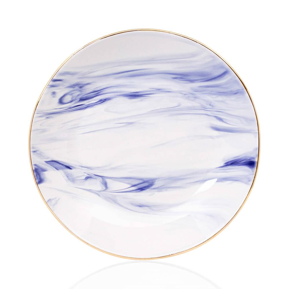 Ocean Seramik Çukur Yemek Tabağı - 20 cm