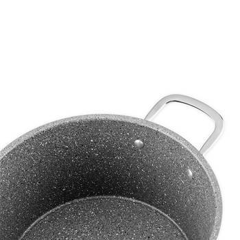 Odessa Granit Derin Tencere - 20 cm - Thumbnail