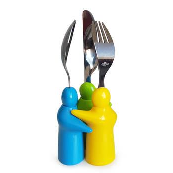 - Hug Çocuk 3 Parça Çatal Kaşık Bıçak Set