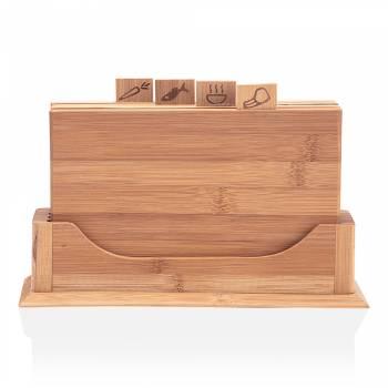 - Olea Kesme Tahtası Seti - Bambu