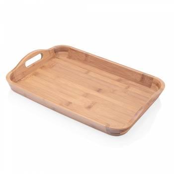 - Olea Kulplu Tepsi - Bambu