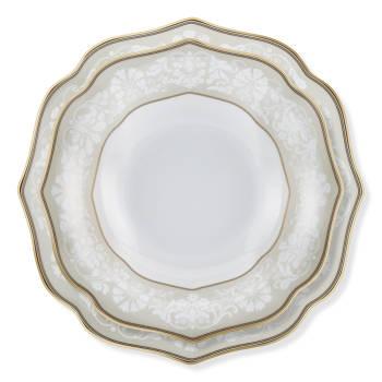 Oriental Dream 12 Kişilik 70 Parça Royal Bone China Yemek Takımı - Thumbnail