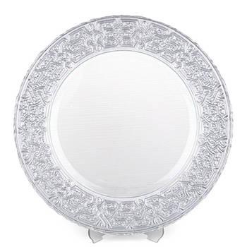 Biev - Ottoman Gümüş Rengi Supla - 33 cm