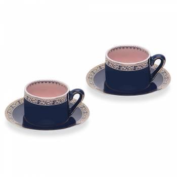 - Pembe 2'li Kahve Fincan Seti