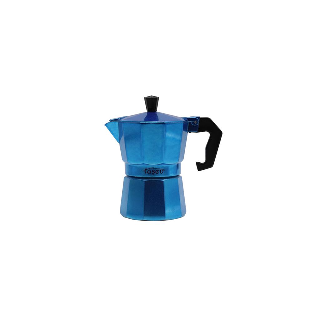 Piccolo - Moka Pot 3 Fincan Mavi