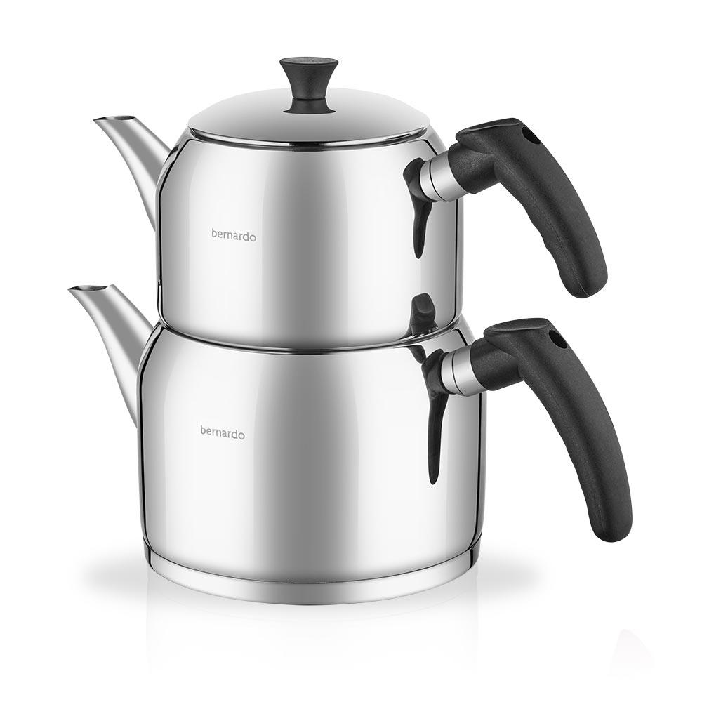 Porto Çelik Çaydanlık Takımı