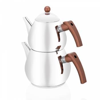 Bernardo - Rain Çelik Çaydanlık Takımı